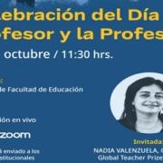 Celebración Día del Profesor Facultad de Educación
