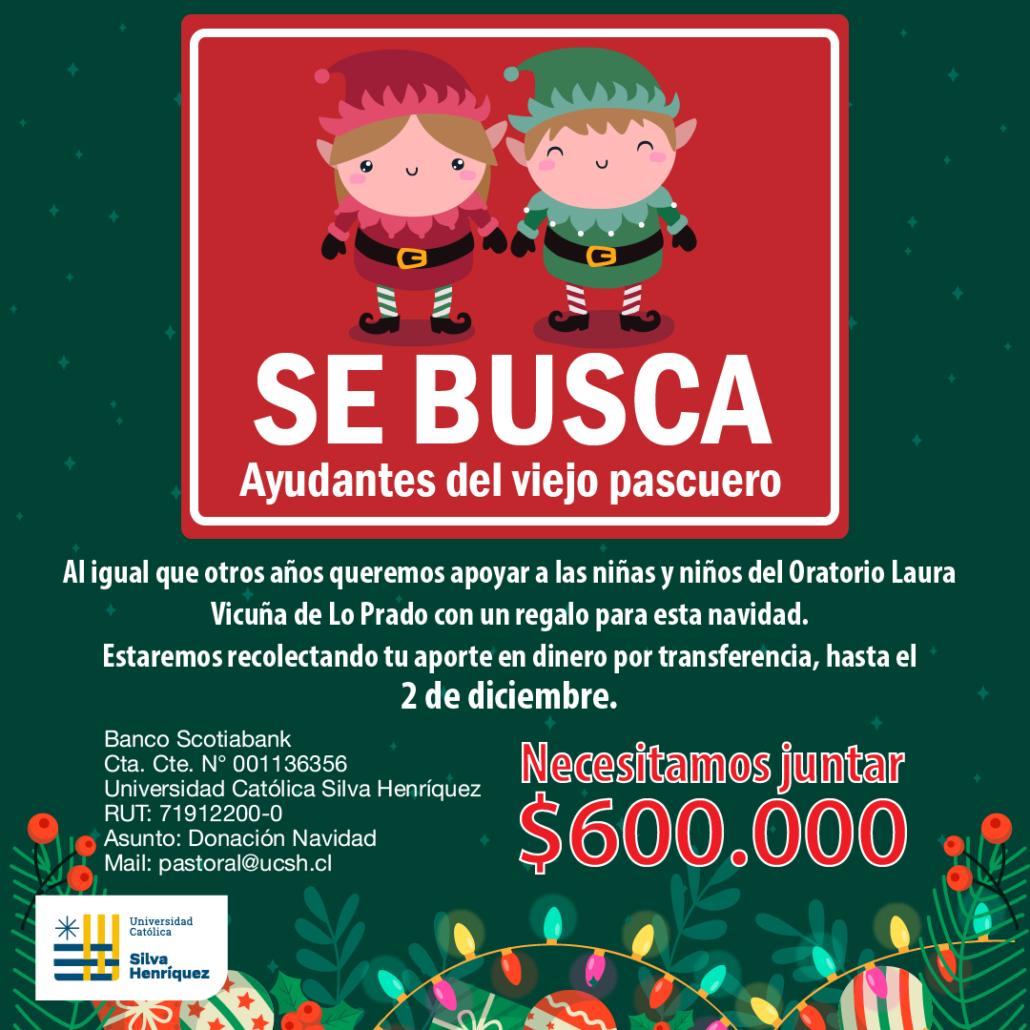 Campaña Solidaria Navidad