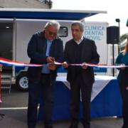 Inauguración de una Clínica Odontológica Móvil para vecinos de Lo Espejo