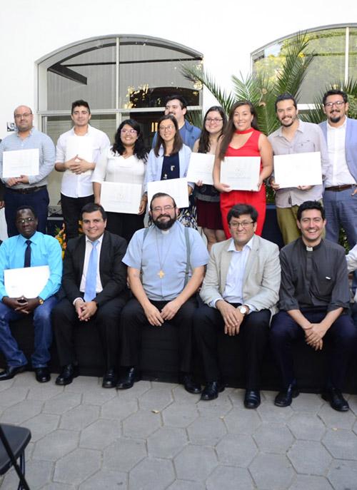 Ceremonia de certificación Diplomado Pastoral de Juventud 2019