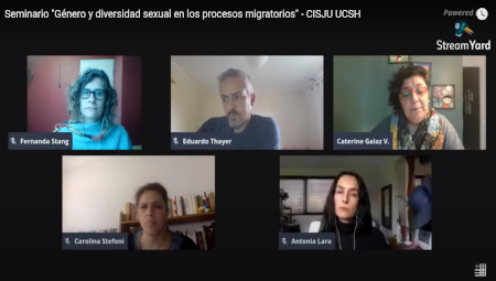 Imagen seminario Género y diversidad sexual en los procesos migratorios