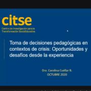 Seminario CITSE toma de decisiones