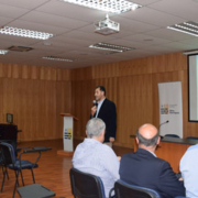 Ceremonia proyecto para el mejoramiento escolar en establecimientos EMTP