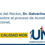 Comunicado Rectoría: Proceso de Acreditación Institucional